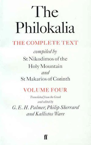 The Philokalia, Volume 4 by G.E.H. Palmer