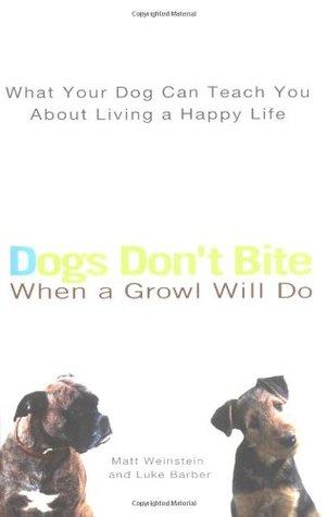 Dogs Don't Bite When a Growl Will Do by Matt Weinstein