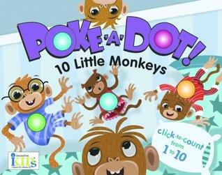 Poke-A-Dot! 10 Little Monkeys