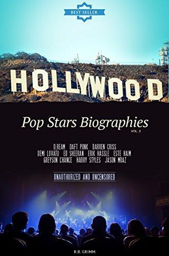 Pop Stars Biographies Vol.3: