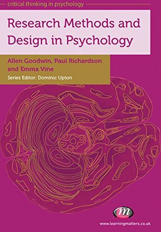 Research Methods and Design in Psychology (Critical Thinking in Psychology Series)