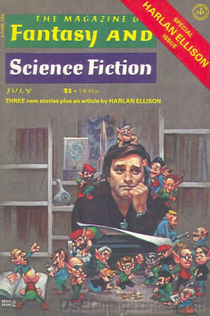The Magazine of Fantasy and Science Fiction, July 1977 (The Magazine of Fantasy & Science Fiction, #314)