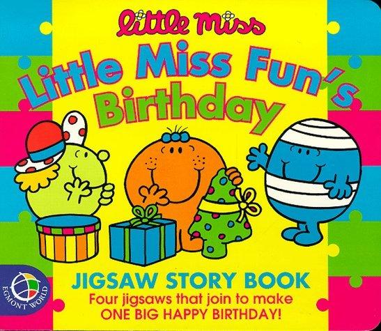 Little Miss Fun's Birthday (Mr. Men & Little Miss Jigsaw Books)