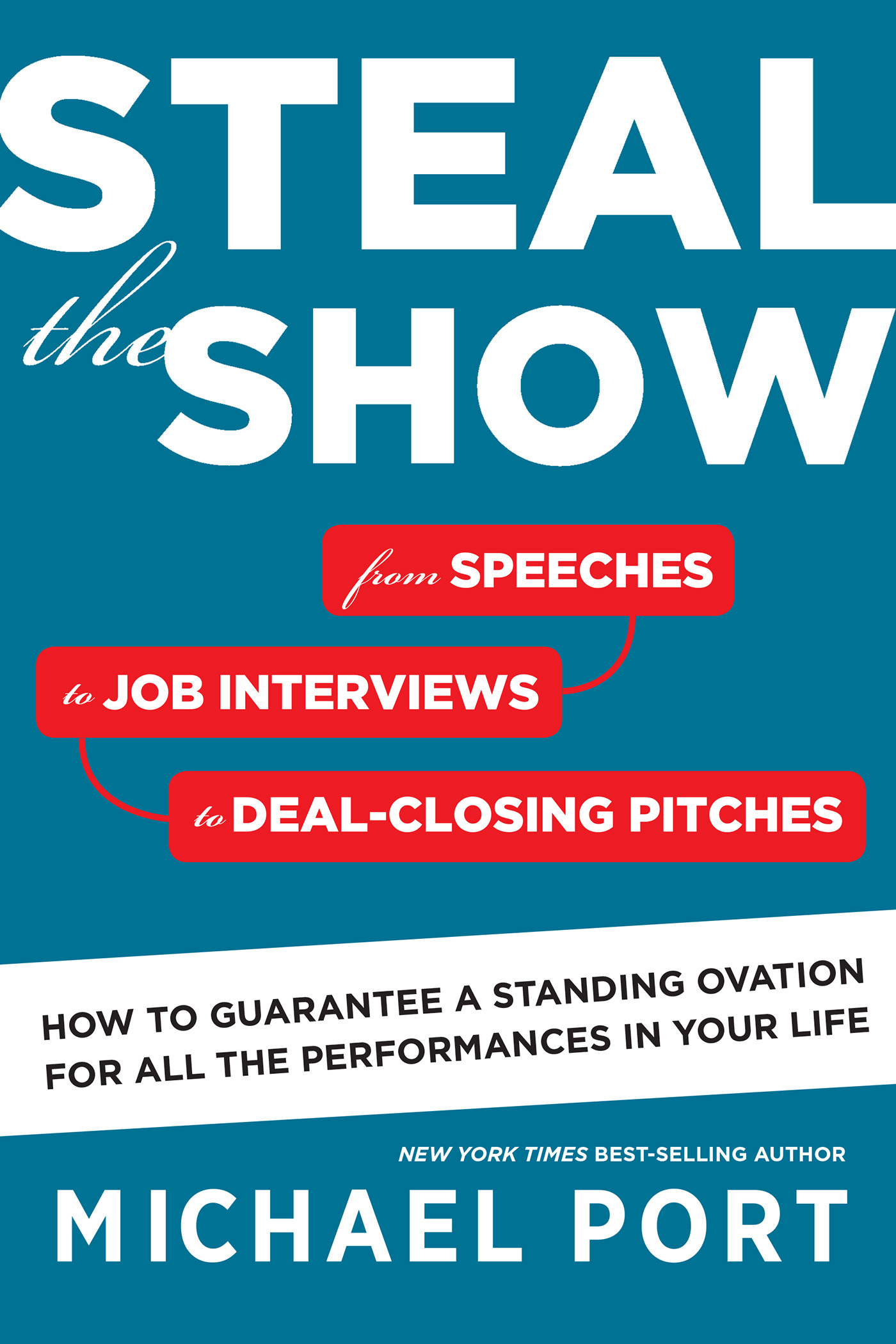 Steal the Show: From Speeches to Job Interviews to Deal-Closing Pitches, How to Guarantee a Standing Ovation for All the Performances in Your Life