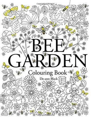 Bee Garden: Colouring Book