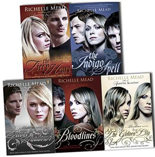 Bloodlines / The Golden Lily / The Indigo Spell / The Fiery Heart / Silver Shadows