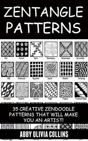 Zentangle Patterns 40 Creative Zendoodle Strings and Patterns that Fascinating Zentangle Pattern