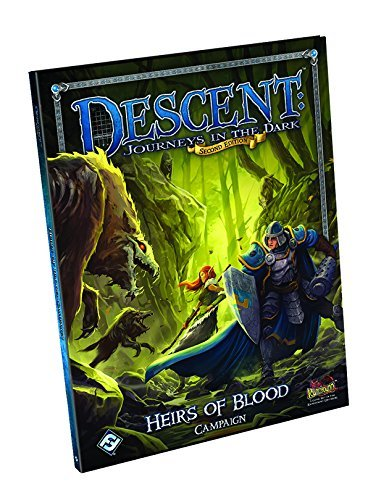 Descent Journeys in the Dark: Heirs of Blood Campaign Book