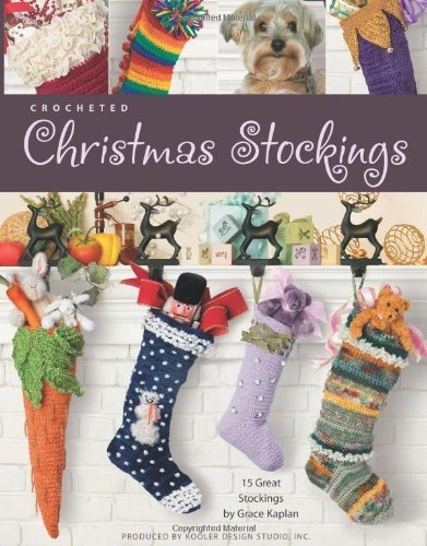 Crocheted Christmas Stockings (Leisure Arts #4032)