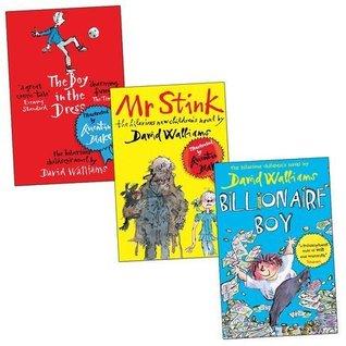 David Walliams 3 Books Collection: Billionaire Boy / The Boy in the Dress / Mr Stink