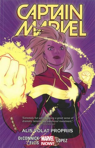 Captain Marvel Volume 3 Alis Volat Propriis By Kelly Sue Deconnick