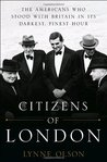 Citizens of London by Lynne Olson
