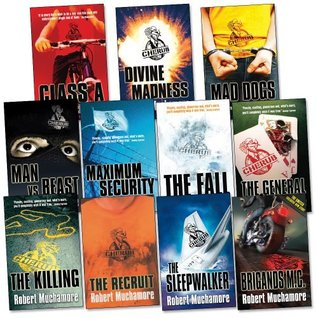 CHERUB Pack, 11 books, RRP £76.89 (Brigands M.C, Class A, Divine Madness, Mad Dogs, Man Vs. Beast, Maximum Security, The Fall, The General, The Killing, The Recruit, The Sleepwalker).