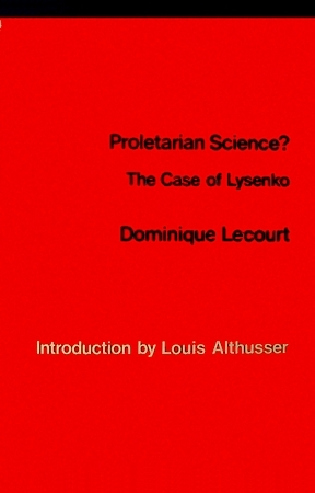 Proletarian science? The case of Lysenko