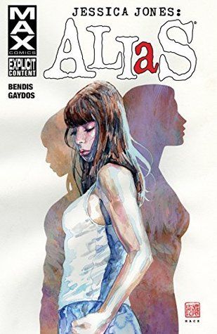 book cover Jessica Jones Alias 1