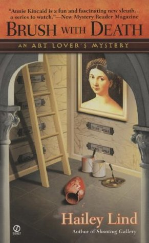 Brush With Death (An Art Lover's Mystery, #3)
