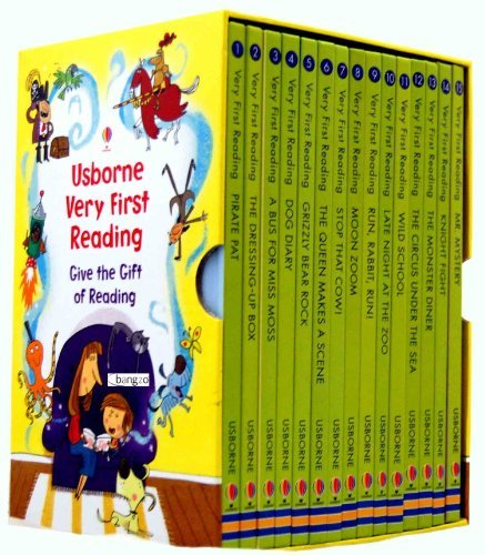 Usborne Very First Reading 16 Books Box Set Collection Pack