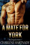 A Mate for York by Charlene Hartnady