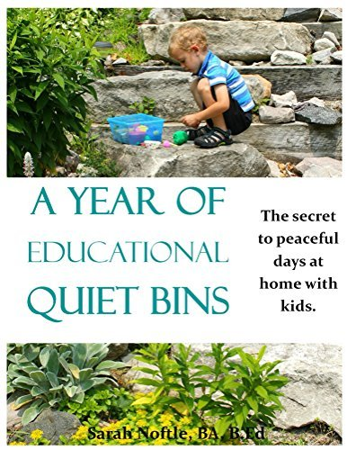A Year of Educational Quiet Bins: The secret to peaceful days at home with kids