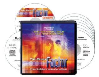 """The Einstein Factor (7 Compact Discs/Bonus CD: """"Image Streaming for Children""""/PDF Workbook)"""