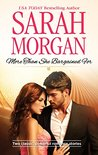 More than She Bargained For by Sarah Morgan