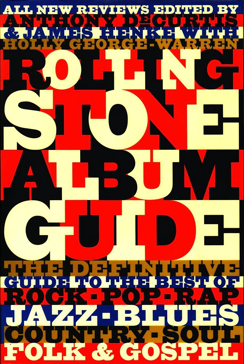 Rolling Stone Album Guide: All New Reviews