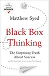 Book cover for Black Box Thinking: The Surprising Truth About Success