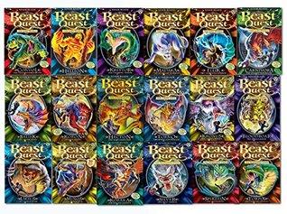 Beast Quest Slipcased Set, Books 37-54