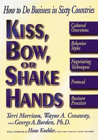 Kiss Bow Or Shake Hands by Terri Morrison