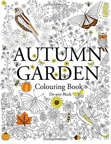 Autumn Garden: Colouring Book