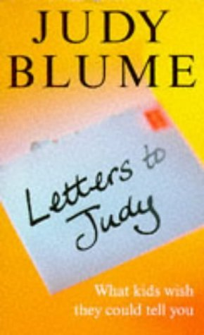 Letters to judy by judy blume spiritdancerdesigns Gallery
