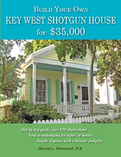 Build Your Own Key West Shotgun House for $35,000
