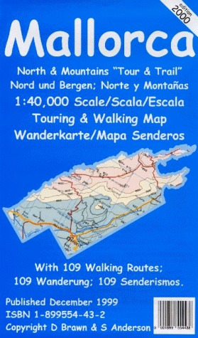 Mallorca North Tour and Trail Map