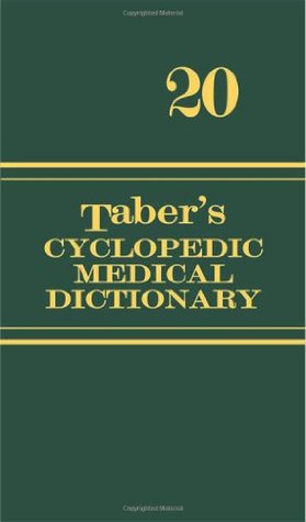 Tabers Cyclopedic Medical Dictionary Tabers Cyclopedic Medical