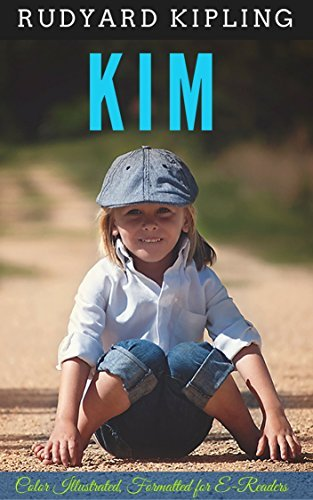 Kim: Color Illustrated, Formatted for E-Readers