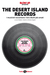 The Desert Island Records by Stefano Isidoro Bianchi