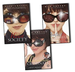 Ally Carter Heist Society 3 Books Collection Pack Set