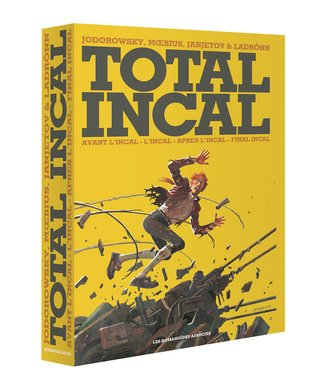 Total incal (coffret): avant l'incal - l'incal - apres l'incal - final incal by Alejandro Jodorowsky