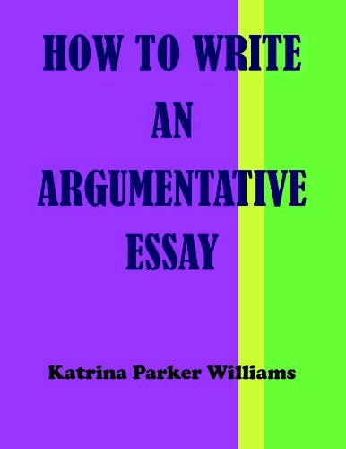 How to Write an Argumentative Essay --- Also Read How to Write a Great Short Story --- How to Write a Basic Essay --- How to Write a Researched Essay