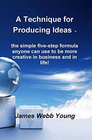 a technique for producing ideas- the simple five step formula anyone can use to be more creative in business and in life- james webb young- marketing and creativity books-www.ifiweremarketing.com