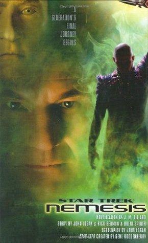 Star Trek Nemesis by J.M. Dillard
