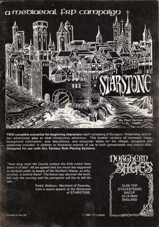 Starstone: a medieval frp campaign