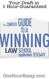 The Complete Guide to a Winning Law School Application Essay - Essay Template