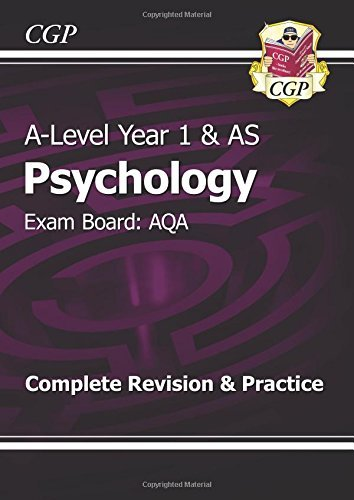 A-Level Psychology: AQA Year 1 & AS Complete Revision & Practice