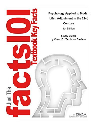 e-Study Guide for: Psychology Applied to Modern Life : Adjustment in the 21st Century by Wayne Weiten, ISBN 9780534608590