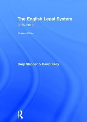 The English Legal System: 2015-2016