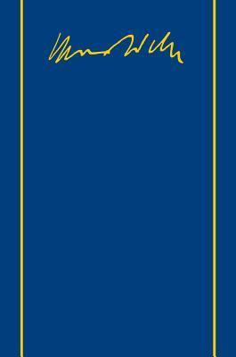 Max Weber-Gesamtausgabe: Band II/4: Briefe 1903-1905