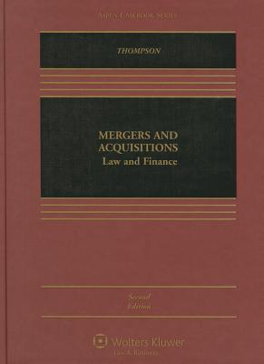 Mergers and Acquisitions: Law and Finance
