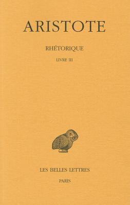 Aristote, Rhetorique