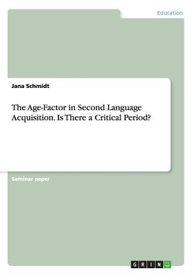 the age factor in second language